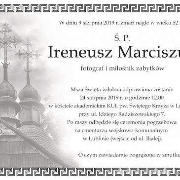 Pożegnanie Irka – 2019.08.24 – Lublin